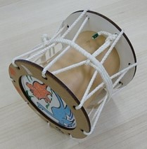 体験 Ⅴ 参加費無料 オリジナルミニ太鼓を作ろう!